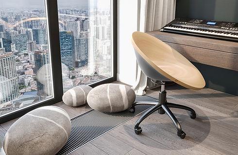 minimalist interior design ideas - Katsu