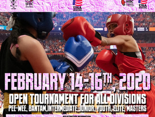 Upcoming The 2nd Annual Atlanta Classic Females only Boxing Tournament  Feb 14-16 2020