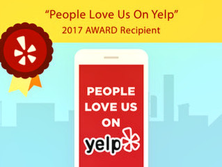 "Sweet Science Boxing Club Recieves ""People Love us on Yelp"" 2017 Award"