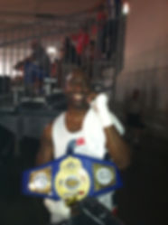 Marty P. Hill Amateur Boxer