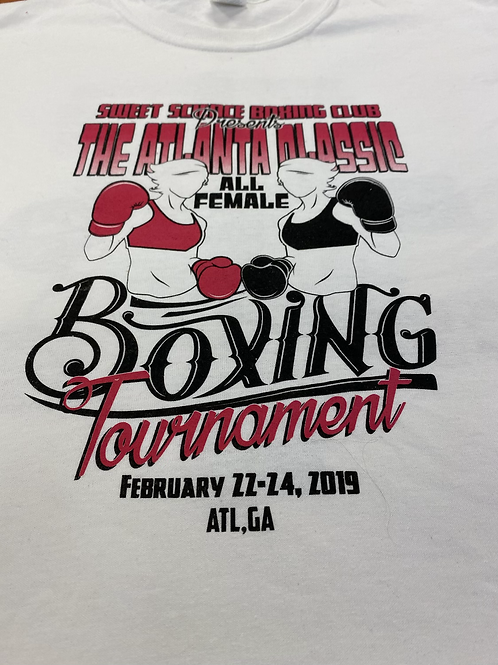 2019 Atlanta Classic All Female Tournament T-shirt