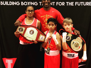 Sweet Science Kids Boxing team competes in the SugarBert Nationals