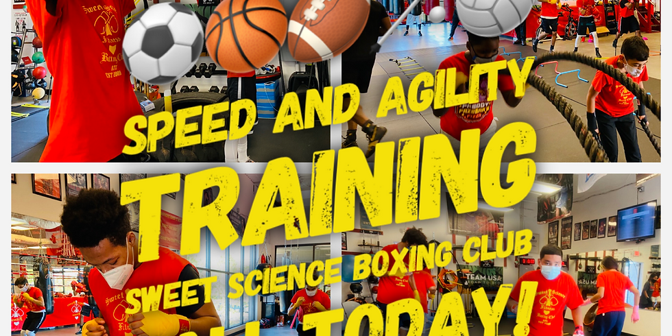 Spring Sports Speed and Agility Training at Sweet Science Boxing Club