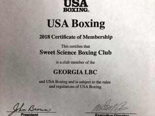 Sweet Science Boxing Club is a USA Boxing RegisteredClub