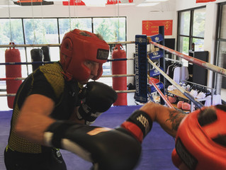 My training experience with boxing Coach Marty P. Hill owner of Sweet Science Boxing Club in Atlanta