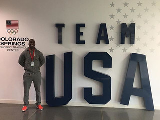 Coach Marty P. Hill Visits Olympic Training Center in Colorado Springs
