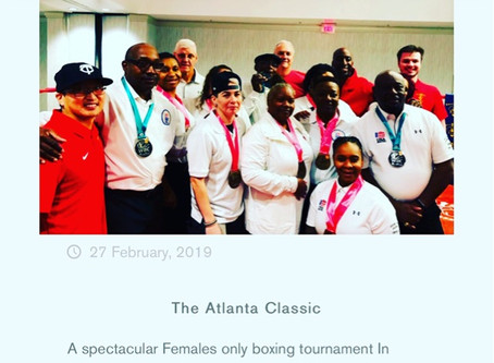 The Atlanta Classic Females only amateur boxing tournament hosted by Sweet Science Boxing Club
