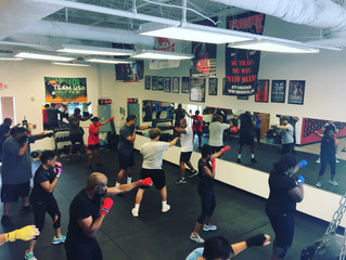 GROUP BOXING CLASSES DELIVER A ONE-TWO PUNCH FOR FITNESS