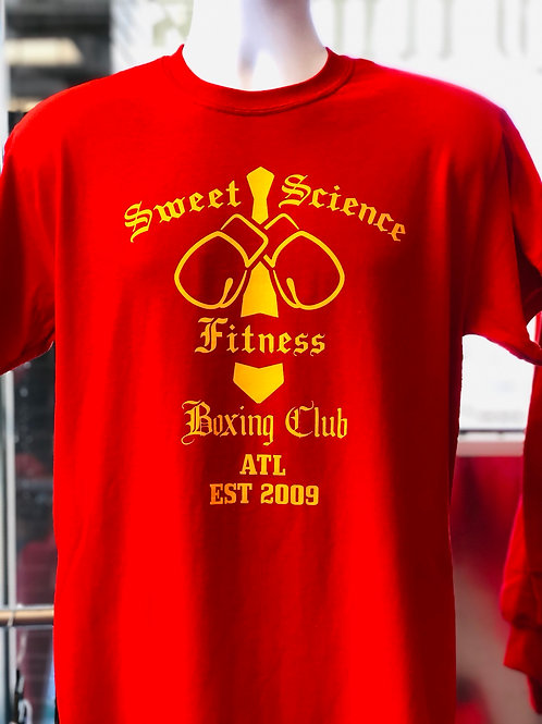 Sweet Science Boxing Club Team T Shirts!