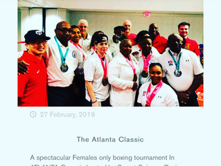The Atlanta Classic Female only boxing tournament hosted by Sweet Science Boxing Club!