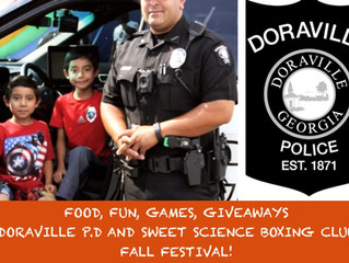 Sweet Science Boxing Club and Doraville Police Department Fall Festival Tuesday October 30 2018