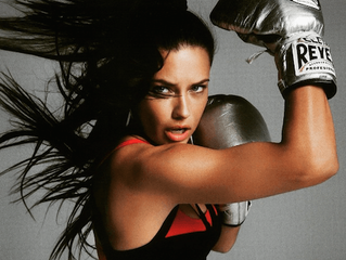 It's official! Fashion models can't get enough of boxing!