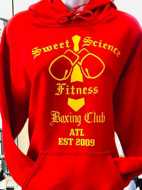 Sweet Science Boxing Team Hooded Sweat Shirt