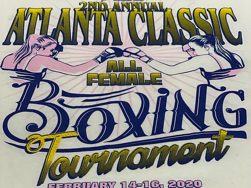 2020 The Atlanta Classic All Female Tournament T-shirt