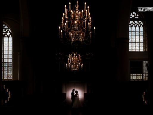 Bruiloft Berrie & Sanne, Geertruidenkerk