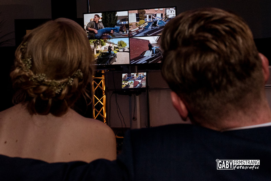 Bruiloft Shagmard en Albertine uit Papendrecht, Theeplaats Lage Zwaluw