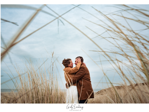 Rick & Mireille, trouwen in KeyKeg Willemsoord, fotoshoot in Gebouw 66 en op Texel