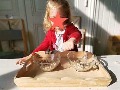 école - atelier Montessori verser à la