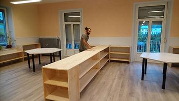 ecologie - nous fabriquons nos meubles !