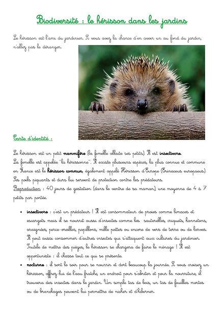 dossier complet biodiversité - les hér