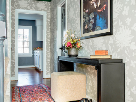 A Colorful, Charming Entry