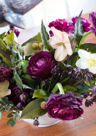 florals by Wild Fleurette       photo by Gordon Gregory