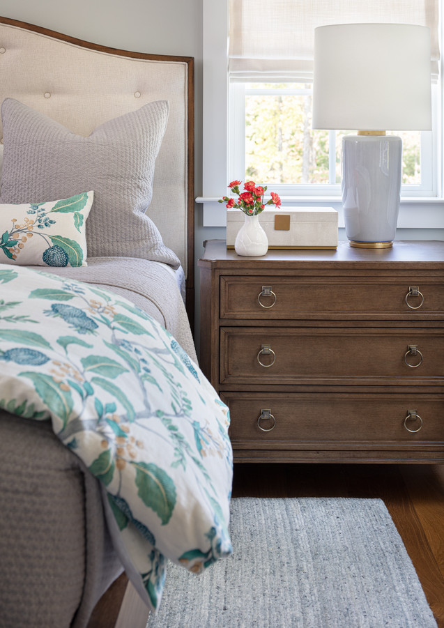A soothing color palette is what all bedrooms need.