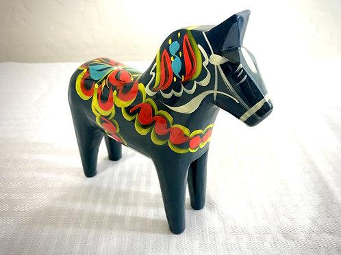 New Blue Dala Horse