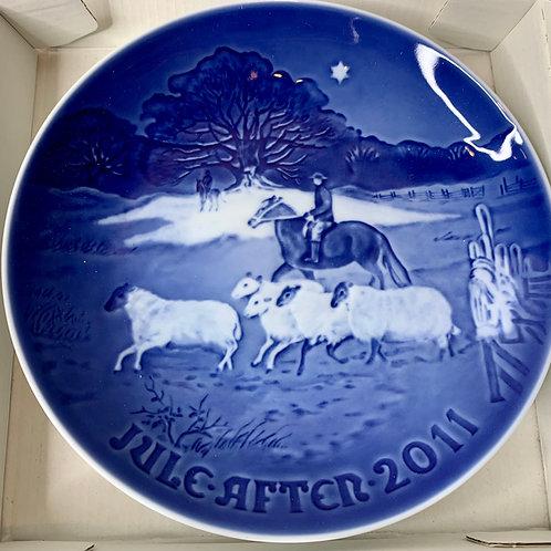 Scandinavian Collector Christmas Plates