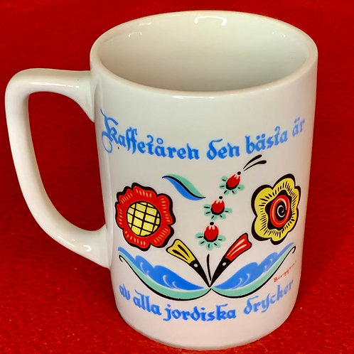 Coffee is the best Swedish mug