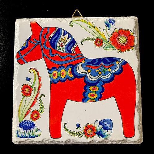 Dala Horse Trivet