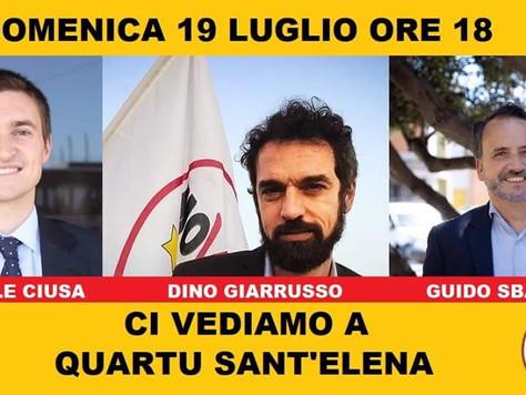 Incontro con Dino Giarrusso e Michele Ciusa