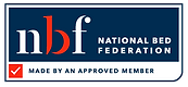 The NBF Logo shows that Smeaton Brothers & Healthbeds are members of the National Bed Federation