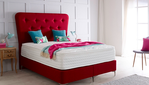 The luxurious Genoa bed which is temperature controlled.