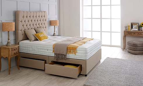 The enviro-lux bed which can be fully re-cycled to help future generations.