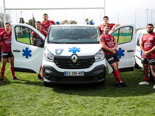 Le Groupe Loudane remercie son partenaire le RCT rugby club de Toulon pour son soutien.