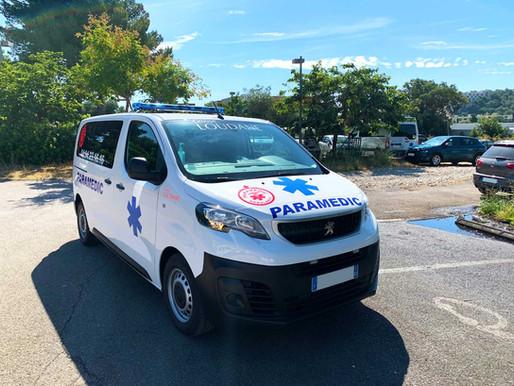 Groupe Loudane : Ambulance