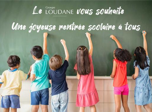 Groupe Loudane : Rentrée scolaire 2020
