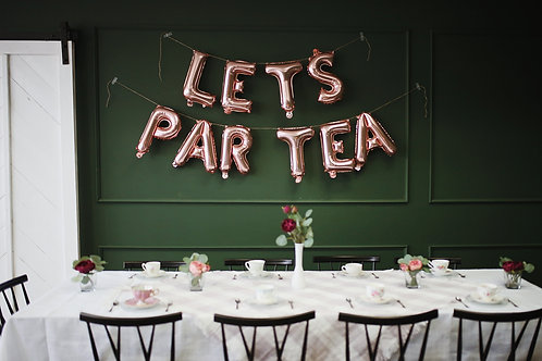 Event Rental | High Tea Package