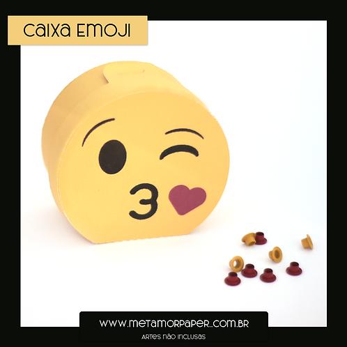 Caixa Emoji Beijo