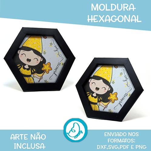 Moldura Hexagonal