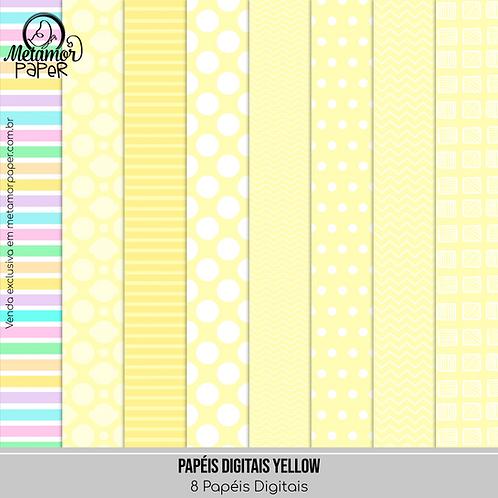 Papéis Digitais Yellow