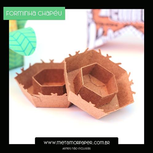 Forminha Chapéu