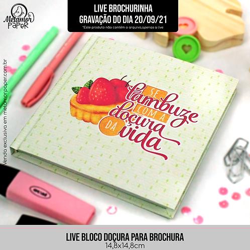 Live Brochura-Gravação do dia 20-09-21