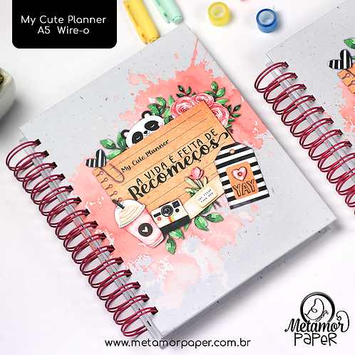 My Cute Planner A5 Wire-o/Espiral