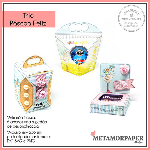 Trio Páscoa Feliz