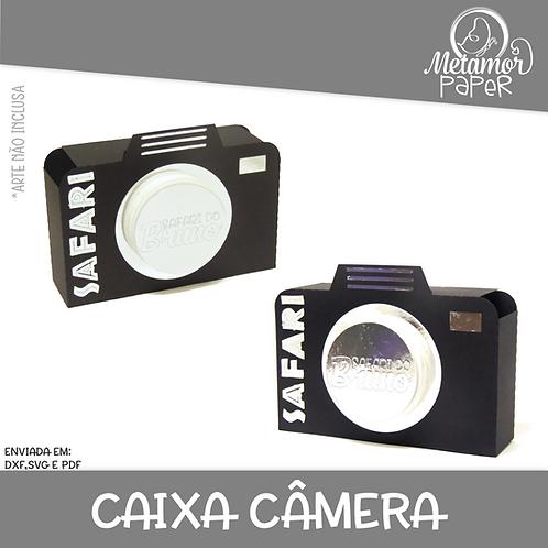 Caixa Câmera para latinha Mint