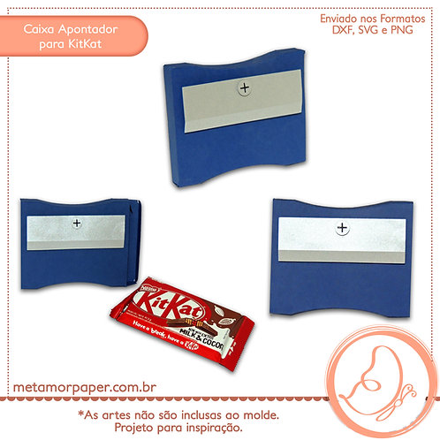 Caixa Apontador Para KitKat