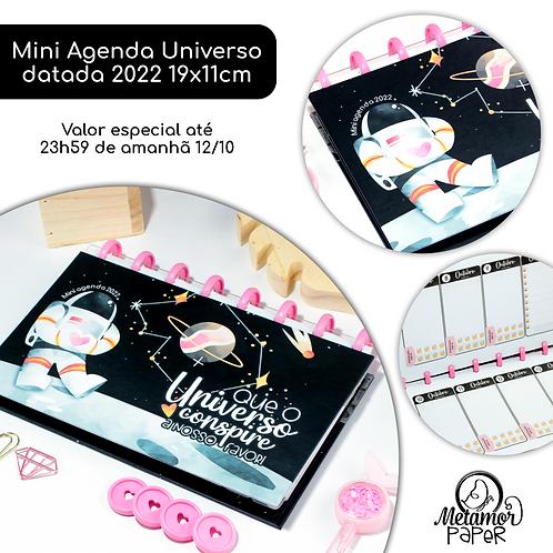 Mini Agenda Universo 2022 19x11cm