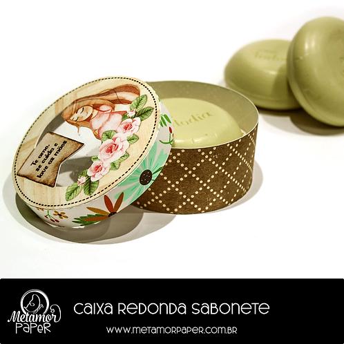 Caixa Redonda Sabonete